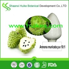 manufacturer supply natural Guanabana/soursop / Graviola /Annona muricata P.e 10:1