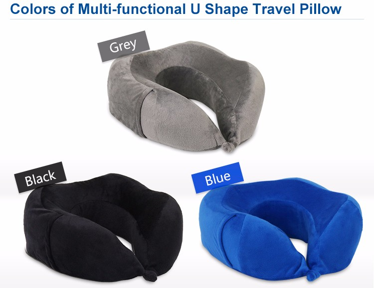 personal adjustable relieves neck pain face travel pillow designed memory foam travel pillow