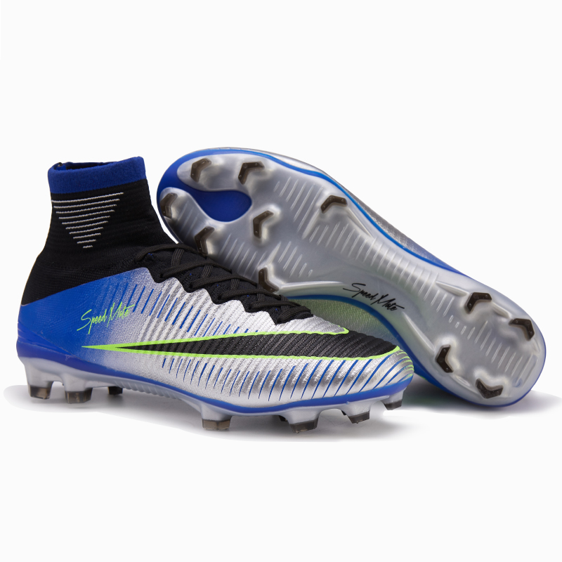 0f26bc485558 2019 High Ankle Mens Superfly Soccer Shoes Cr7 FG Outdoor Cleats Football  Boots OEM Factory Wholesale