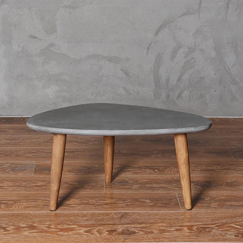 Loft Style Furniture Modern Wood Table Living Room