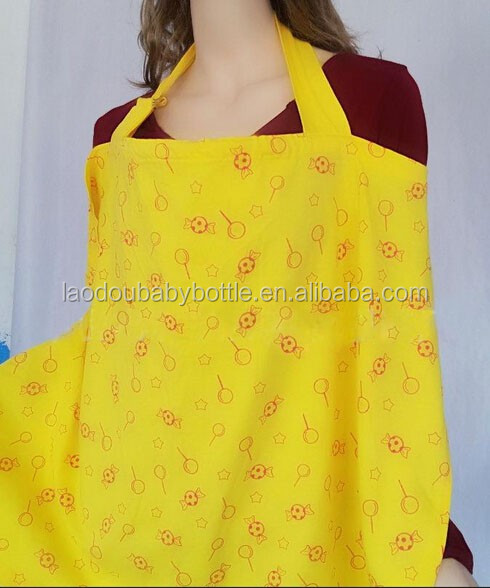 Factory Sale Cotton, Non-woven Baby Feeding Cover Nursing Cover For Breastfeeding