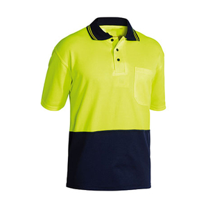 Two tone Hi Vis Polo Shirt safety polo shirt hi-vis polo shirt