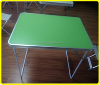 Portable camping small portable folding table , picnic lightweight foldable table , small fold up table and chairs