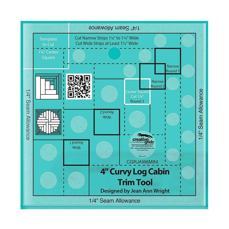 "Creative Grids Wave Quilt 12/"" Ruler CGRWave"