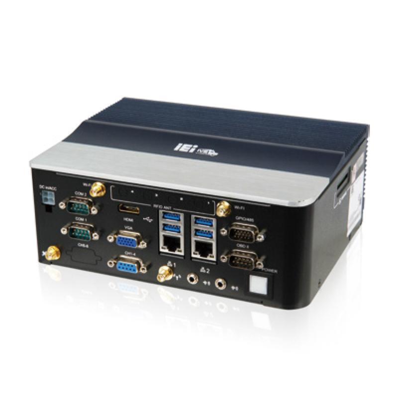 IEI IVS-100-BT-E3/2G-R10 Intel Atom E3826 Fanless Embedded Mini PC Industrial фото