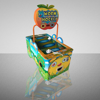 Worm Air Hockey Games- Coin operated Amusement Park Redemption Game Machine for sale
