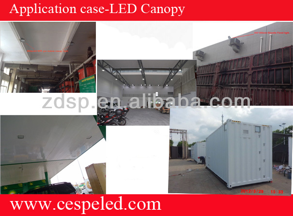 high power led high bay light factory garage canopy lighting DLC UL Approved