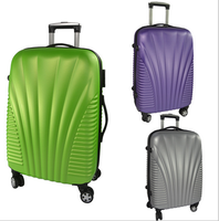 2016 ABS travel luggage bag set