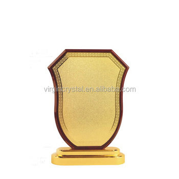 Blank Wooden Shield Wood Awards Trophy Plaques For Wholesale