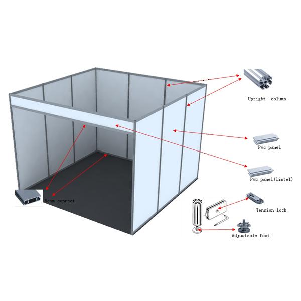 Exhibition Stall Panel Size : Popular aluminum exhibition booth stall buy exhibition