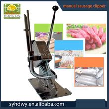 manual sausage clipping clipper machine for sausage casing