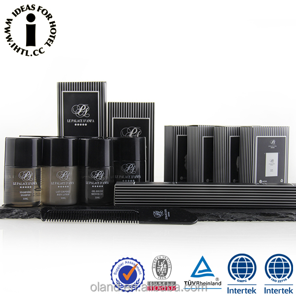 Professional Supply Disposable Luxury Guest Room Amenities Hotel