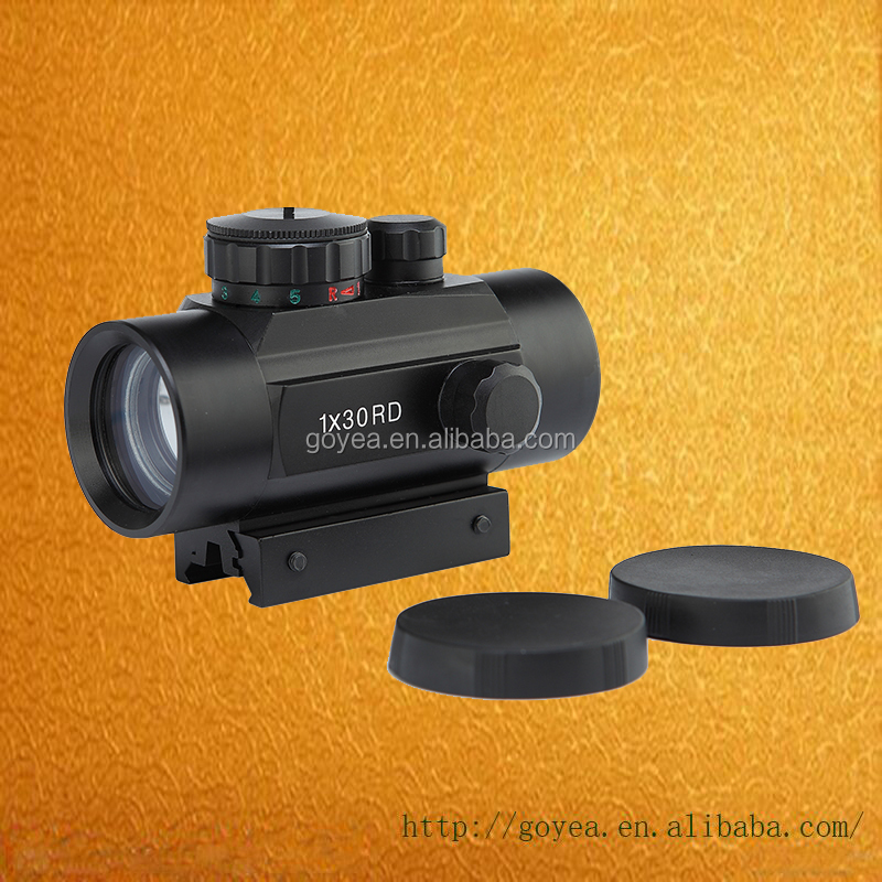 Red Dot Scope 1X30 Tactical Hunting Holographic Sight for Shot Gun Airsoft 20mm or 11mm Rail Mount Riflescopes Hunting Optics
