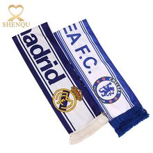 Promotional Cheering Polyester Fan Scarf Printed Polandia Football Scarf
