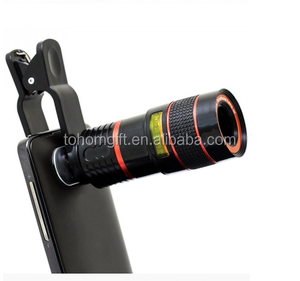 Universal Smartphone Lens 8X Zoom mobile phone telescope Camera Lens