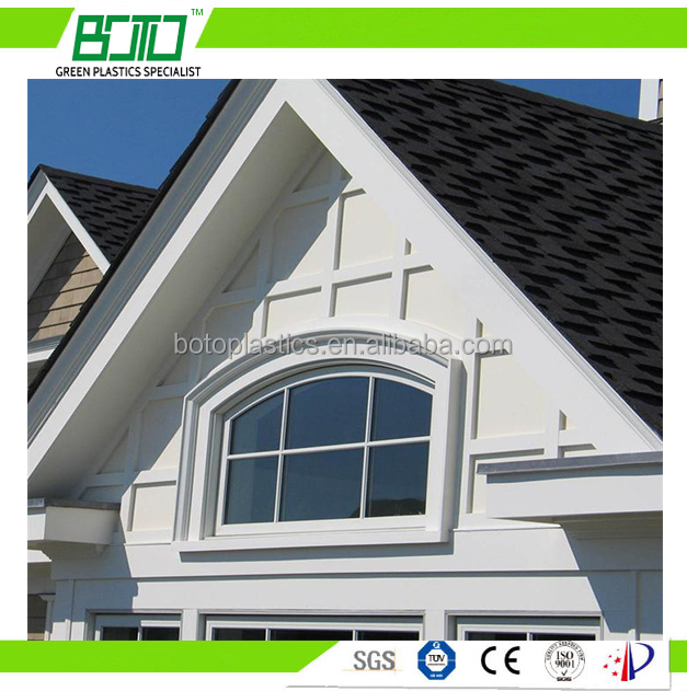 composite millwork exterior cellular pvc trim profiles for windows and doors