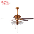 52'' 5 Brown Wooden Blades Mountain Air Inverter Ceiling Fan