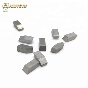 YG6 YG8 tungsten carbide brazed tips carbide saw tips