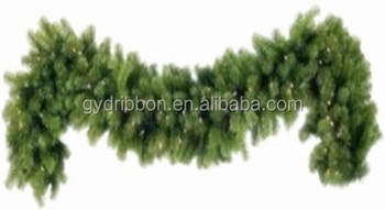 Hot Sale! 9 Ft Metallic Pvc Green Christmas Garland,Green Grass ...
