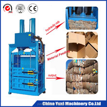 Vertical hydraulic Cardboard baling machine /automatic waste paper Compressor carton Used Clothes and Textile baler