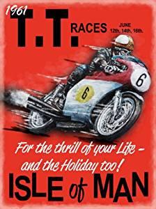 Hotfuel Mens AJS Isle of Man TT Races Sweatshirt