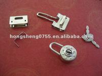 Hot Selling Cheap Price Round Shaped Mini Pad Locks For NoteBooks,Mini Lock For Diary