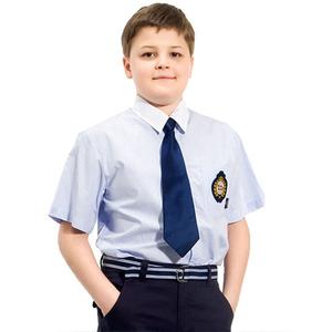 New Design Cheap Boy' s Cotton Primary School Uniform Shirt BS7109