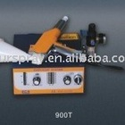 Portable test powder coating gun