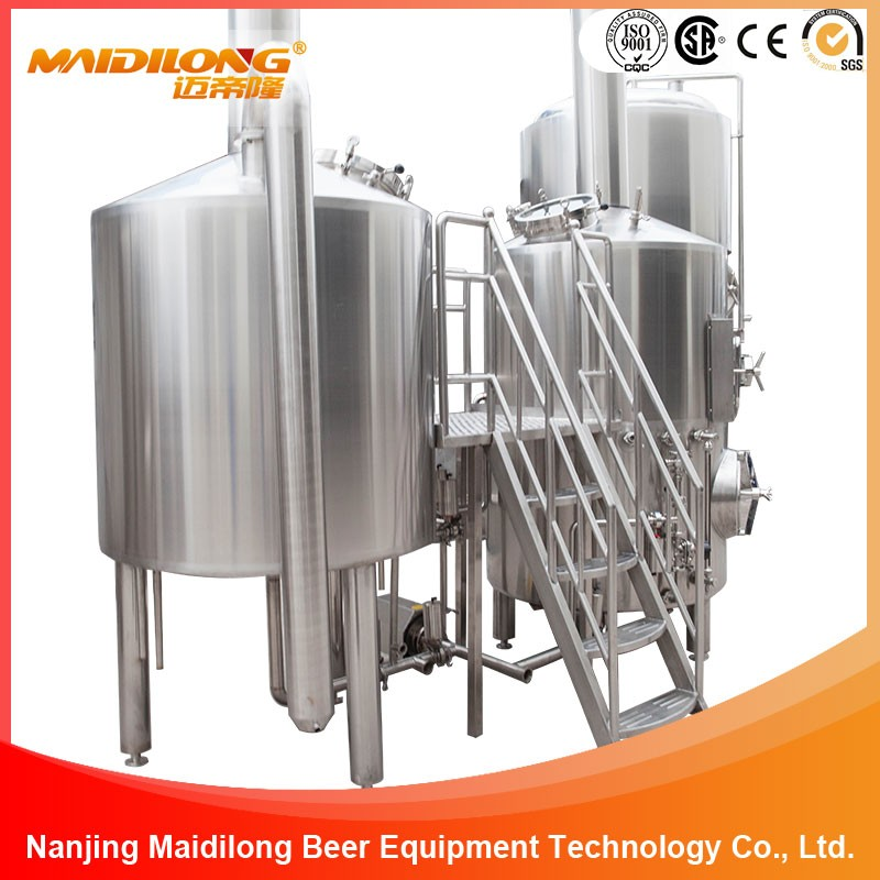500L Mash tun&Lauter Tun Brewhouse Brewing System