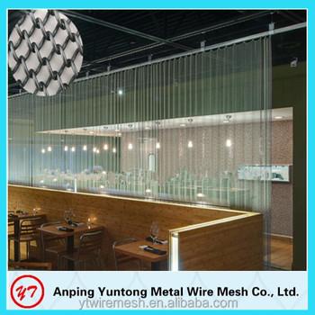 Alibaba Metal Mesh Curtain For Hanging Dividers