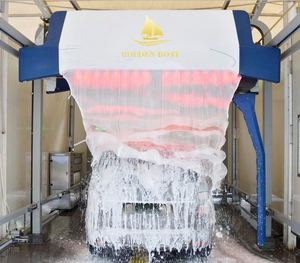 4 dryers Exporting manual car wash machine in China