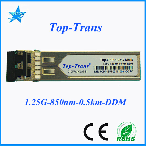 Port sfp with DDM 1.25G 850nm 550m compatible Extreme 10051