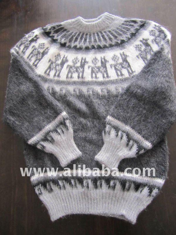 Sweater With Llamas Buy Handmade Peruvian Alpaca Sweaters Product