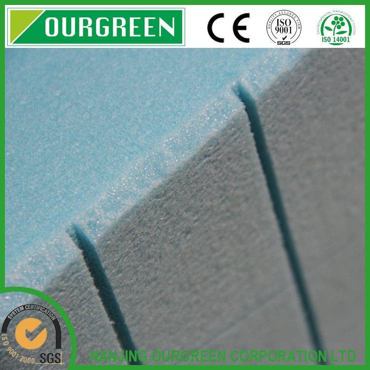 High density 100mm waterproof xps extruded polystyrene foam board