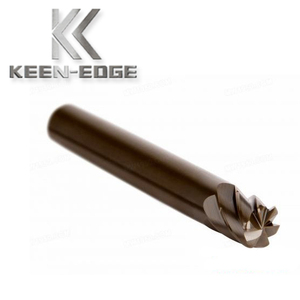 special design 6 flute wood cutting end mills milling bits for sale