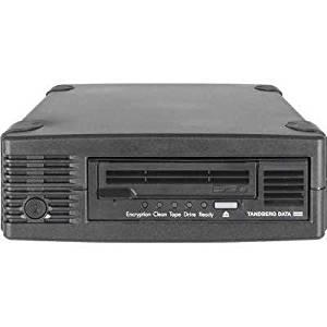Tandberg Data 3535-LTO 2.5/6.25TB LTO-6 HH SAS External Drive Kit with Symantec Backup Exec & 1-Cartridge Black