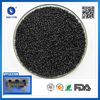 Injection moulding Polyamide resin 30% gf & flame retardant pa6 Black pa6+25% gf PA GF25 V0