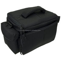 wholesale customized one shoulder large capacity vintage dslr nylon camera bag for outdoor