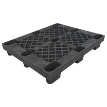 Cheap HDPE 9 feet nestable light duty used disposable plastic pallet for sale