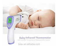 Baby Adult Non-contact Ear & Forehead Digital Infrared Thermometer Body Temperature Monitor