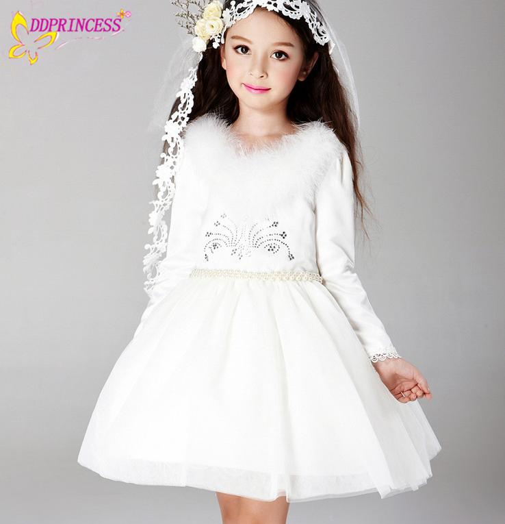 d68b9141193c7c4 Alibaba Свадебные девушки одежда принцессы Свадебные платья для девочек-подростков  свадебный цветок платье Бальные платья