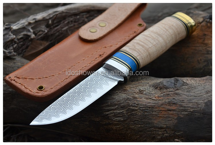 Doshower bowie knives of wholesale knives blanks with Chinese knife