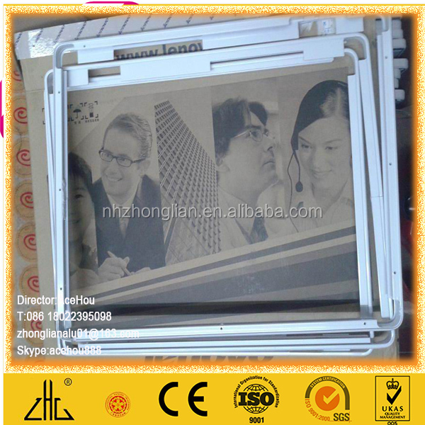 WOW!!!Hot selling aluminium section manufacturing machinery /6063 aluminum billet manufacture /aluminum picture frames