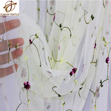 100 polyester white african french tulle embroidery bridal lace dress fabric