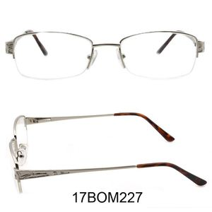 aa817d62fa1 Half frame Glasses to block blue light shenzhen price brand name fashion  for young girls frame