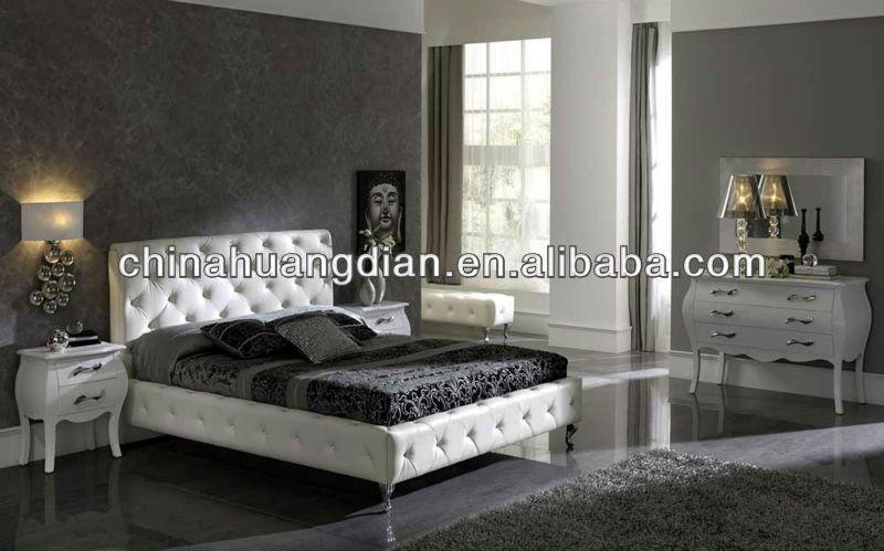 لويس نمط hdbr211 فندق أثاث غرف النوم الحديثة مجموعات غرف النوم