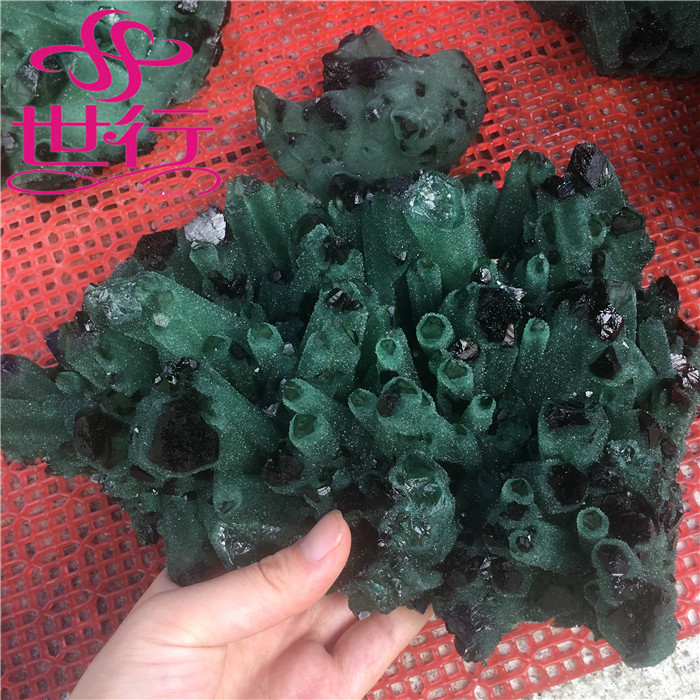 Wholesale natural agate mineral crystal stone semi precious stones and minerals