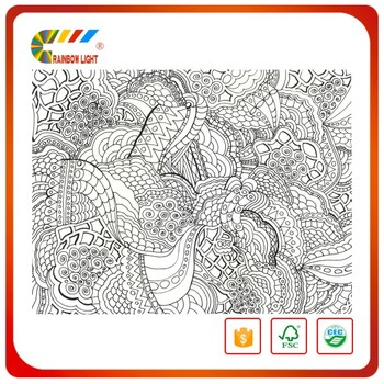 High Quality Cheap Hot Sale Bulk Book Printing Kids Coloring Book With Water Pen