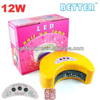 UVD Hot Professional 12W Better Gel Polish Nail Art Design Pictures