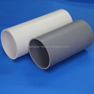5 inch pvc drainage deameter pipe black plastic water pipe roll